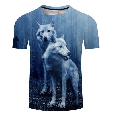 Camiseta Estampada Lobos...