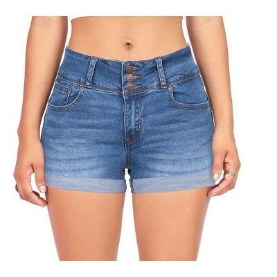 Short Jeans Feminina Curto...