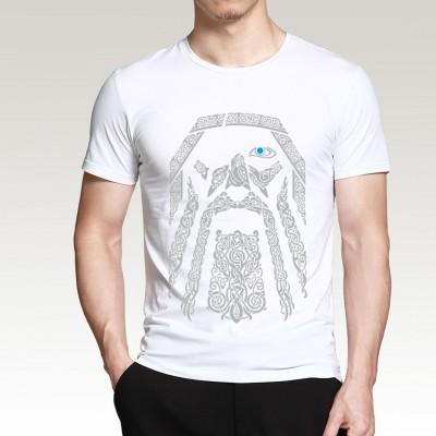 Camiseta Estampada Vikings...