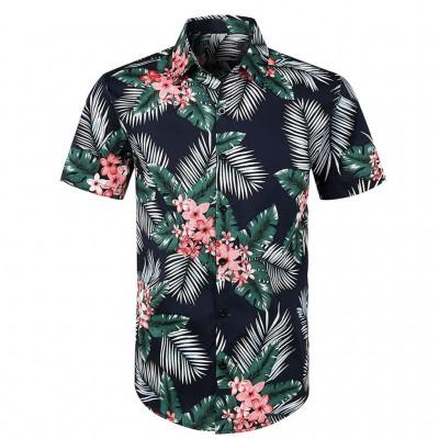 Camisa Estampa Florada Moda...