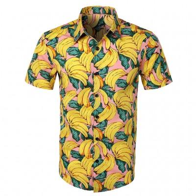 Camisa Social Estampa...