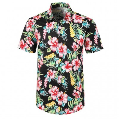 Camisa Estampa Florada...