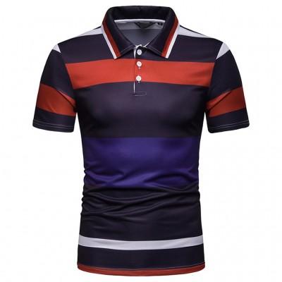 Camisa Gola Polo Listrado...