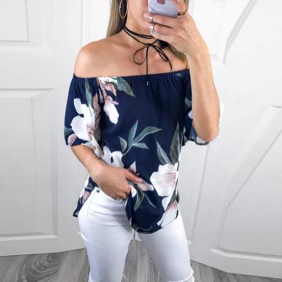 Blusa Estampa Floral Tomara...
