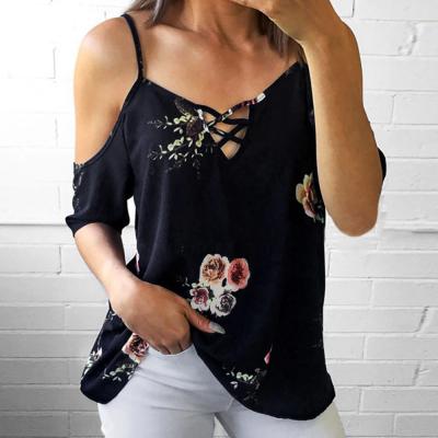 Blusa Estampa Floral Alça...