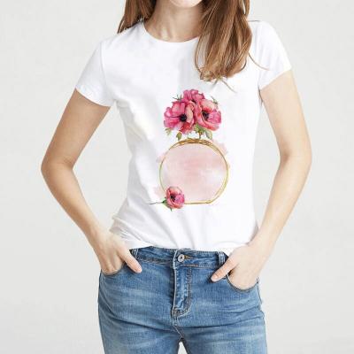 Camiseta Estampada Flor...