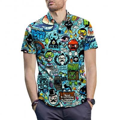 Camisa Masculina Moda Praia...