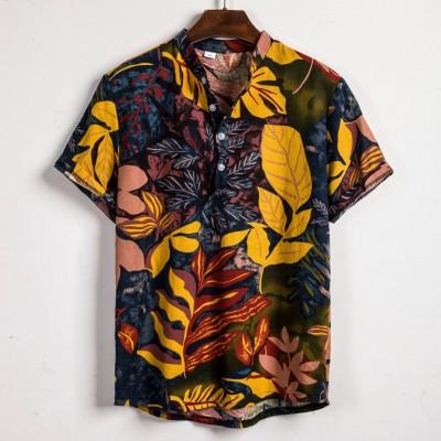 Camisa Masculina Estampa...