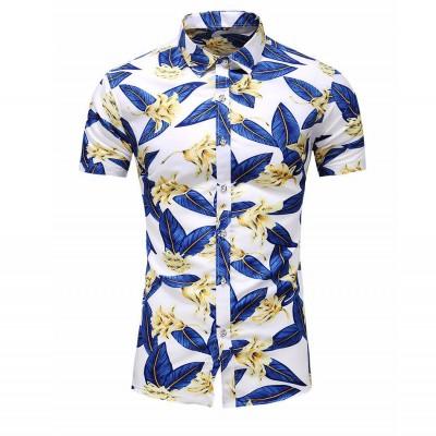 Camisa Praia Estampa Floral...