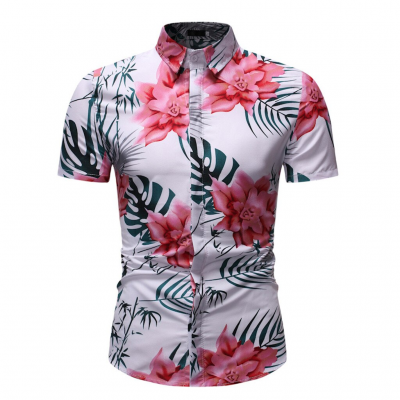 Camisa Praia com Estampa...