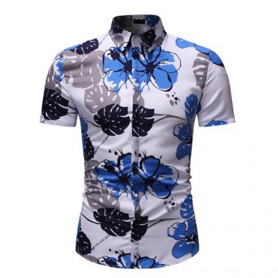Camisa Verão Estampa Floral...