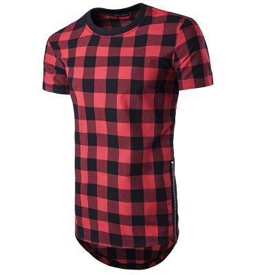 Camiseta com Estampa Xadrez...