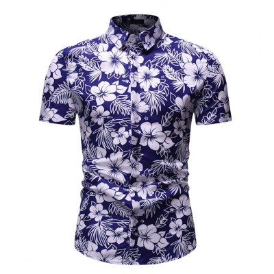 Camisa com Estampa Floral...