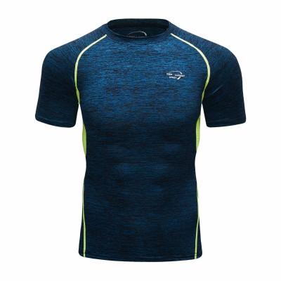 Camiseta Azul Masculina com...