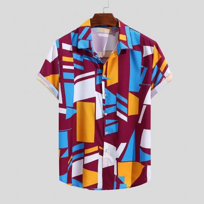 Camisa Estampa Colorida...
