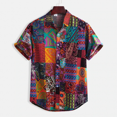 Camisa Estampa Étnicas...