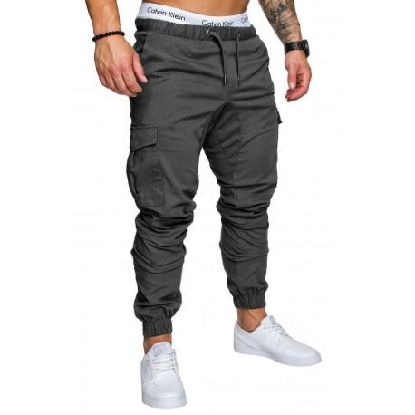 Calça Militar Masculina Moda Hip Hop Elastica Casual Top Homens