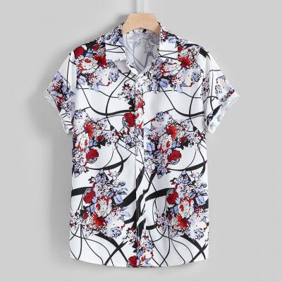 Camisa Verão Masculina...