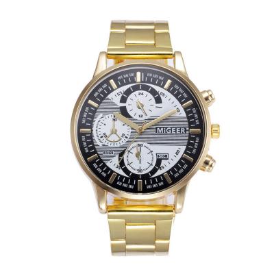 Relógio Quartzo Dourado...