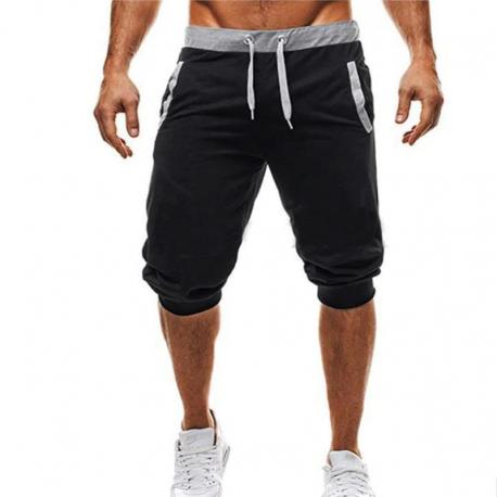 Bermuda Moletom Masculina Casual Treino Moda Fitness Malhação
