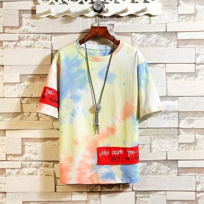 Camiseta Tie Dye Colorida...