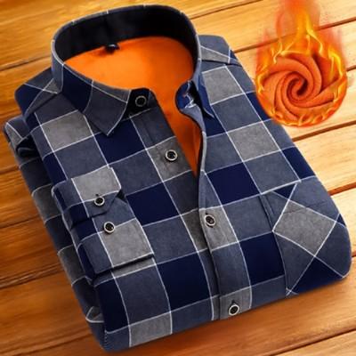 Camisa Moda Inverno Xadrez...