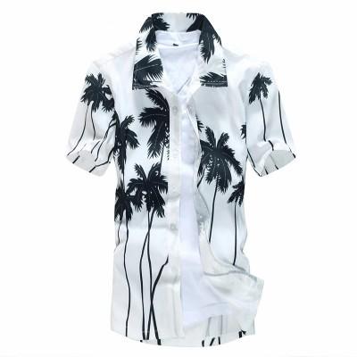 Camisa Verão Tropical Moda...