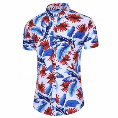 Camisa Verão Havaiano com...