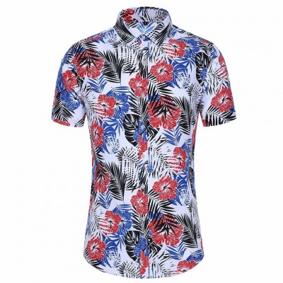 Camisa Floral com Estilo...