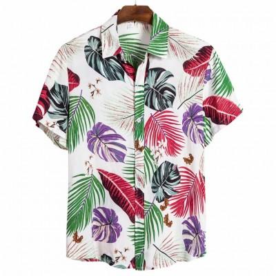 Camisa Verão Masculina Moda...