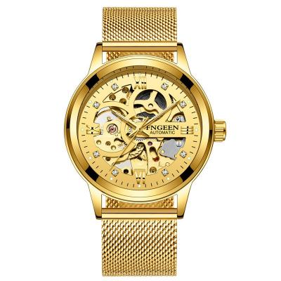 Relógio de Ouro Esquelético...