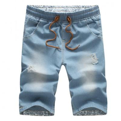 Short Jeans Masculino Moda...