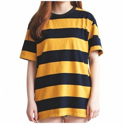 Blusa Amarela Listrada...