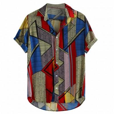 Camisa Verão Havaiana com...