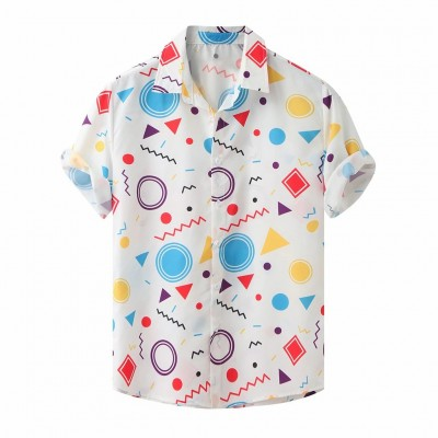 Camisa Viscose Masculina...