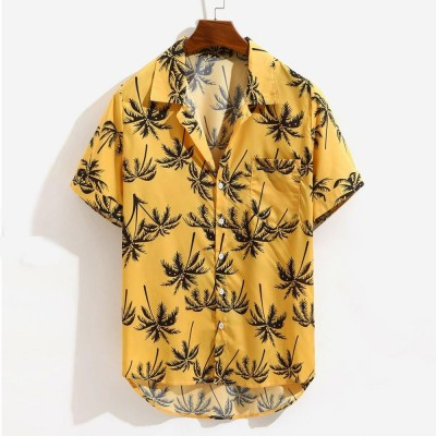 Camisa Viscose Amarela...