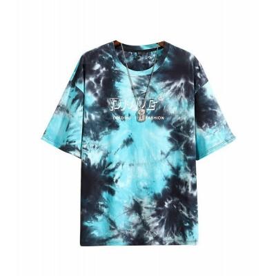 Camiseta Tie Dye Masculina...