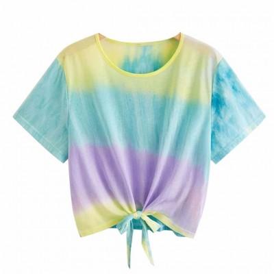 Blusa Cropped Colorida...