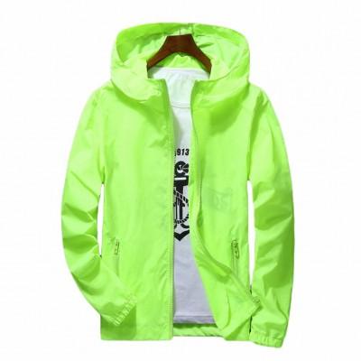 Jaqueta Verde Neon Zipper...