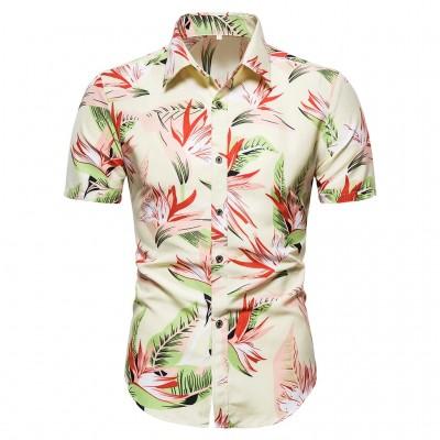 Camisa Branca Havaiana...