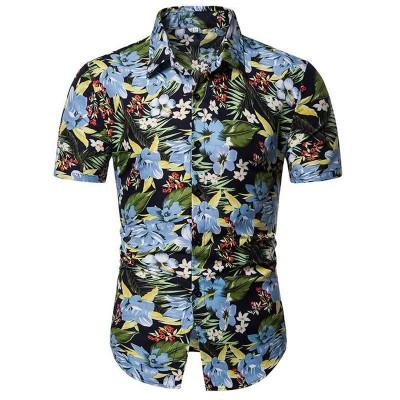 Camisa Masculina Havaiana...