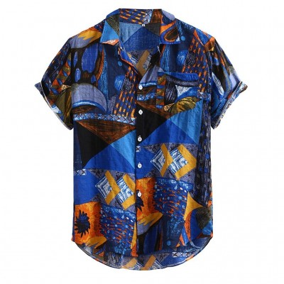 Camisa Havaiana com Estampa...