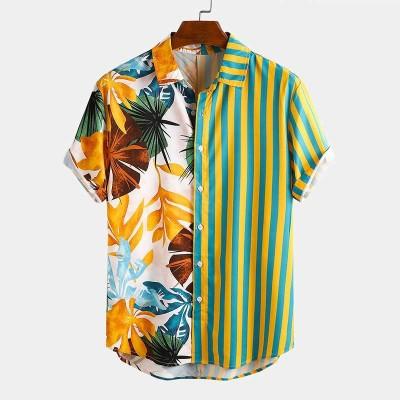 Camisa Verão com Listras...