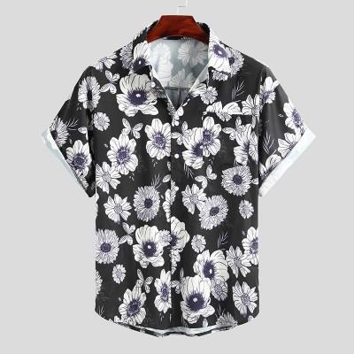Camisa Viscose Preta com...