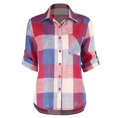 Camisa Feminina com Estampa...