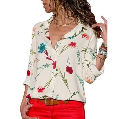 Camisa Feminina Elegante...
