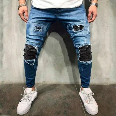Calça Jeans Justa Brim...