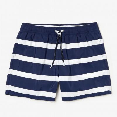 Short Azul com Listras...