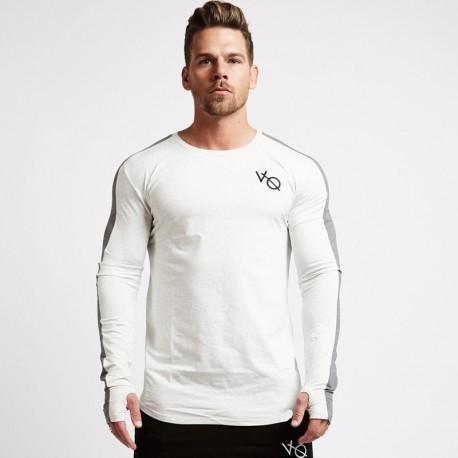 Camiseta Manga Longa Masculina Esportiva Moda Fitness Inverno