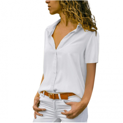 Camisa Feminina Social com...